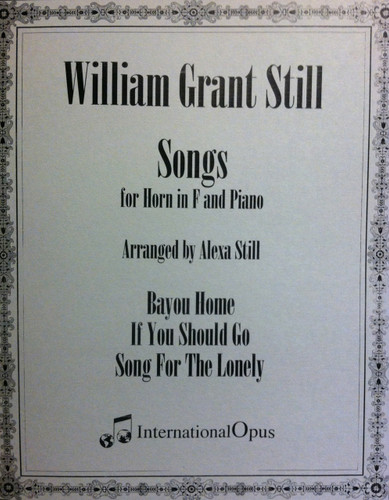 Still, William - Songs For Horn In F