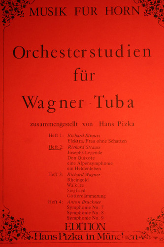 Strauss, Richard - Orchestral Studies For Wagner Tuba, Vol. 2