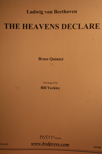 Beethoven, Ludwig - The Heavens Declare