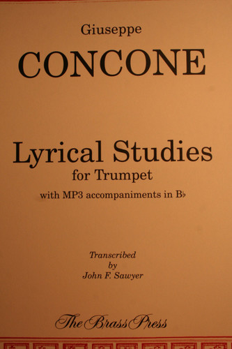 Concone, Giuseppe - Lyrical Studies for Trumpet
