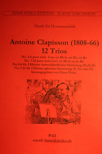 Clapisson, Antoine - Douze Trios