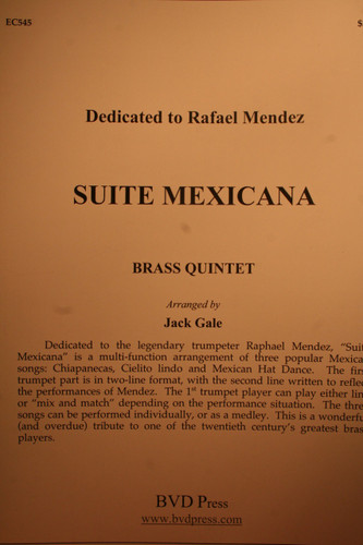 Traditional - Suite Mexicana