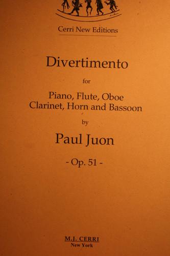 Juon, Paul - Divertimento, Op. 51