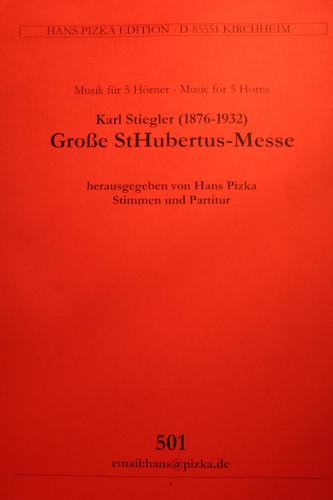 Stiegler, Karl - St. Huberts Mass