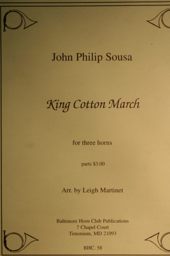 Sousa, John Philip - King Cotton March