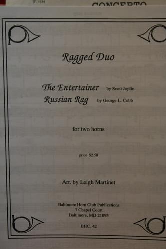 Joplin, Scott/Cobb, George - The Entertainer & Russian Rag