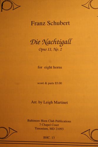 Schubert, Franz - Die Nachtigall, Op. 11, No. 2