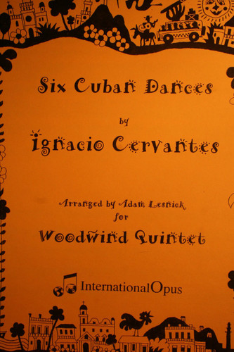 Cervantes, Ignacio - Six Cuban Dances