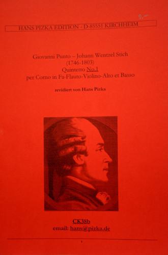Punto, Giovanni & J.W. Stich - Quintet No. 1