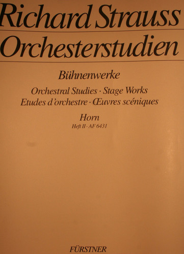 Strauss, Richard - Orchestral Studies, Vol. 2