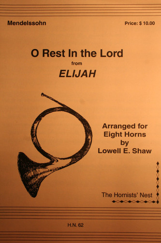 "Mendelssohn, Felix - O Rest In The Lord (from ""Elijah"")"