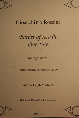 Rossini, Gioacchino - Barber of Seville, Overture