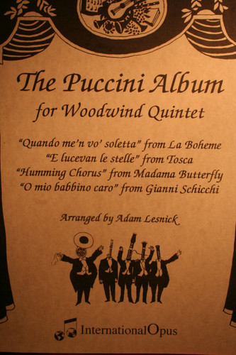Puccini , Giacomo - The Puccini Album, Vol. 1