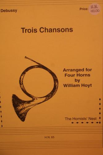 Debussy, Claude - Trois Chansons