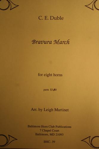 Duble, C.E. - Bravura March