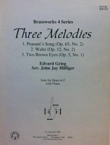 Grieg, Edvard - Three Melodies