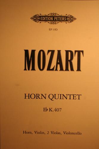 Mozart, W.A. - Quintet in Eb (K.407)
