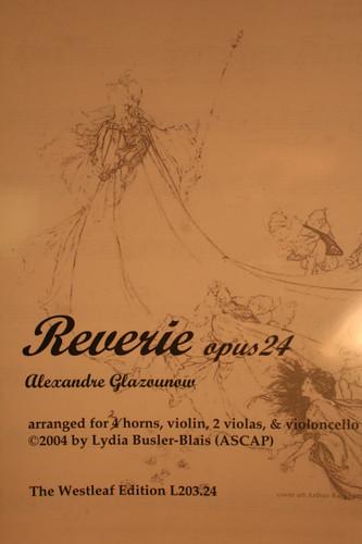 Glazounow, Alexandre - Reverie, Op. 24