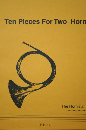 Hill - 10 Pieces for Two Horns