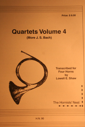 Bach, J.S. - Quartets Vol. 4