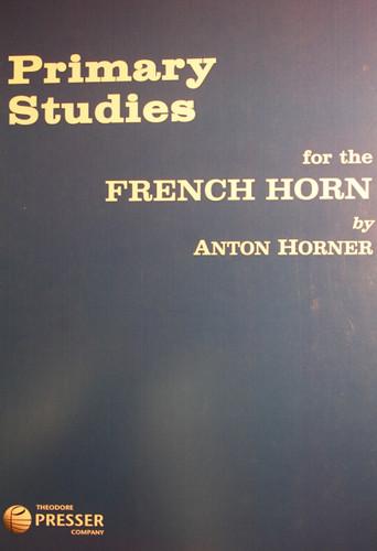 Horner, Anton - Primary Studies