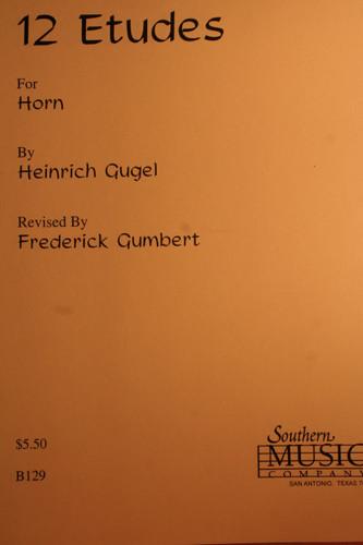 Gugel, Heinrich - 12 Etudes