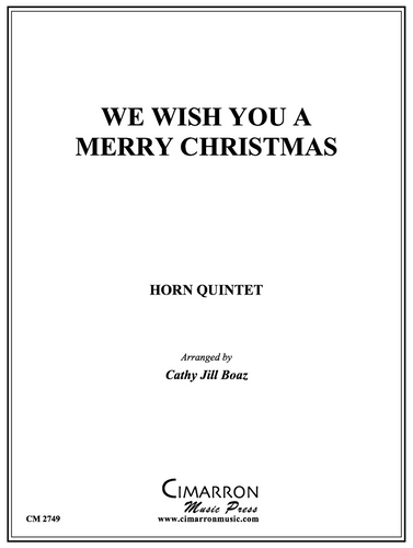 We Wish You a Merry Christmas (Trad.)