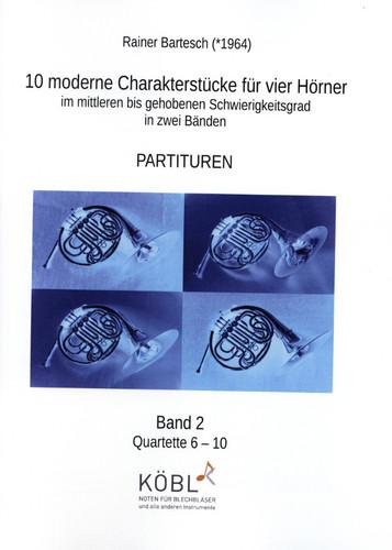 Bartesch, Rainer - 10 moderne Charakterstücke, Volume 2
