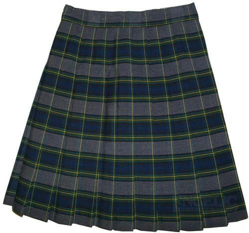 Girls School Uniform Pleated Skirt Plaid #48 LBYE