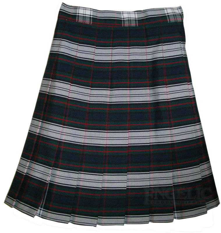 Girls School Uniform Pleated Skirt Plaid #50 YST - Engelic Uniforms