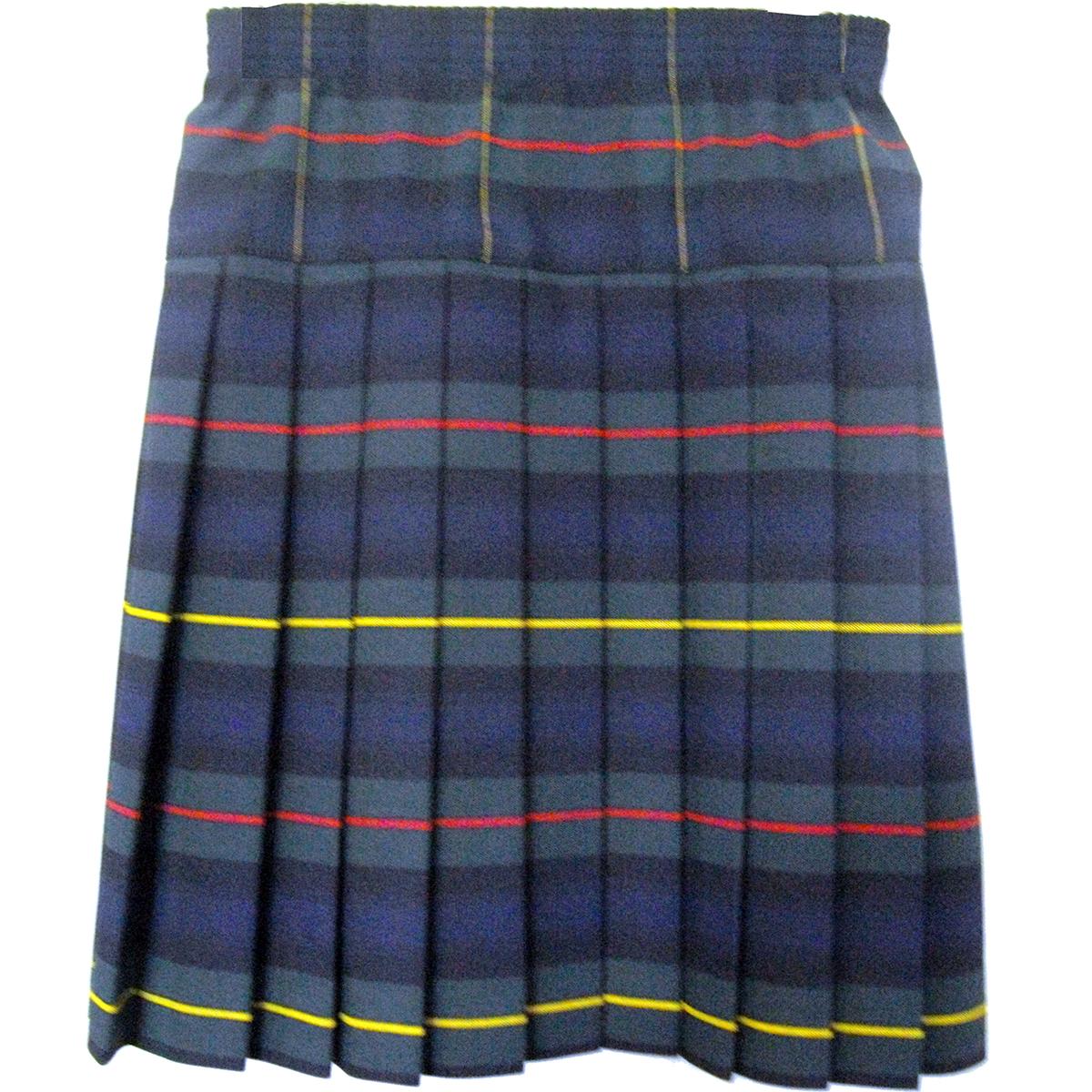 Girls School Uniform Yoke Pleated Skirt Plaid # 83 - Engelic Uniforms