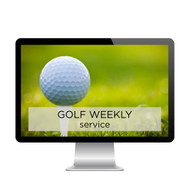 Golf Weekly Service