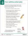 Asthma Treatment Plan Tearpad