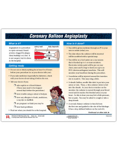 Coronary Balloon Angioplasty Tearpads