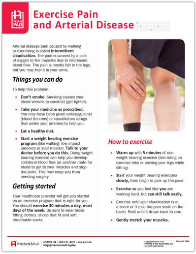 Exercise Pain and Arterial Disease