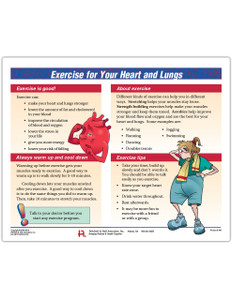 Exercise for Heart and Lung Tearpad (50 sheets per pad)