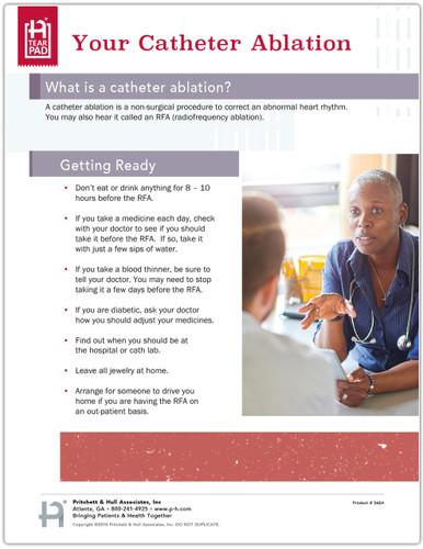Cardiac Ablation Tearpad - page 1
