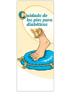 Spanish Diabetes Foot Care Pamphlets (Pack of 50)