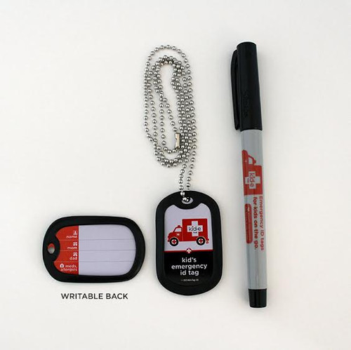 Kid-e Tag Dog Tag Set