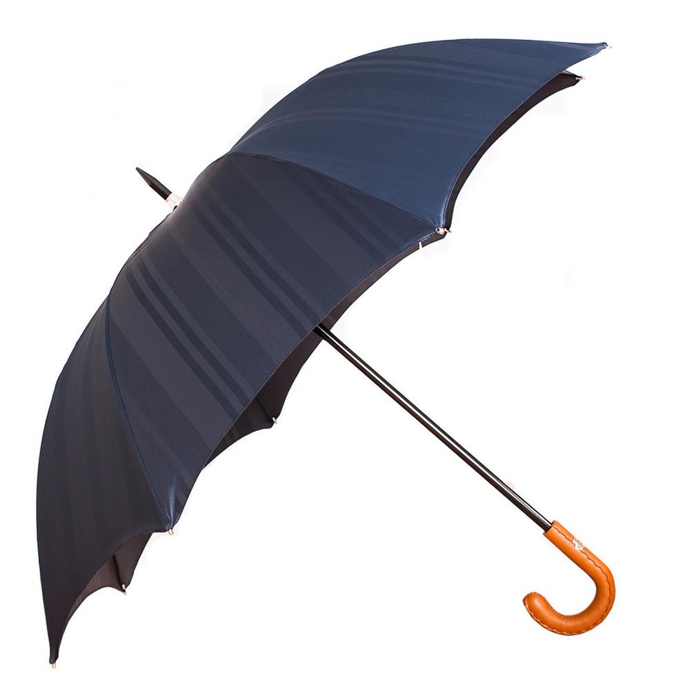Francesco Maglia Dark Blue Striped Umbrella
