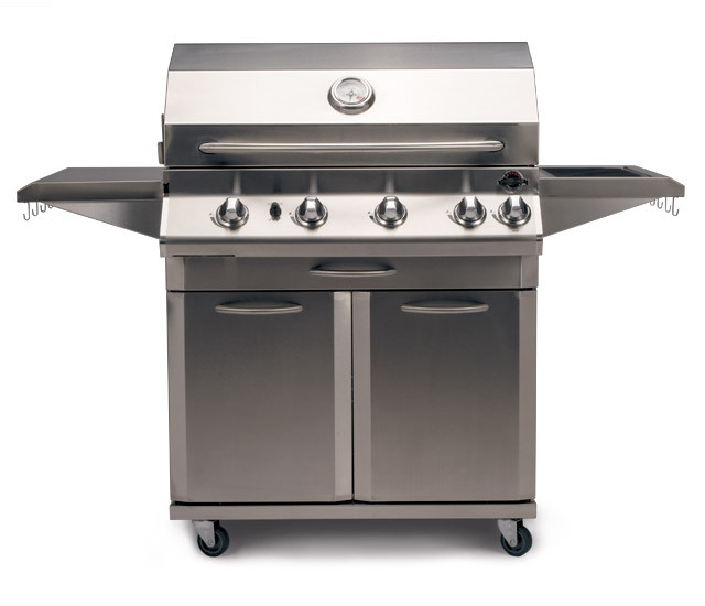 Wood And Metal Jackson Kitchen Cart: JACKSON GRILLS LUX SERIES 700 CART MODEL GRILL WITH ROTISSERIE