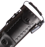 Instroke Leather Cowboy Series - All Black - 2x3 - Top