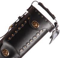 Instroke Original Leather Cowboy Series - Black - 2x4 - Top