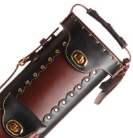 Instroke Original Leather Cowboy Series - Black/Brown - 3x5 - Top