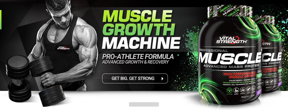 Pro Muscle Advanced Mass Protein Powder