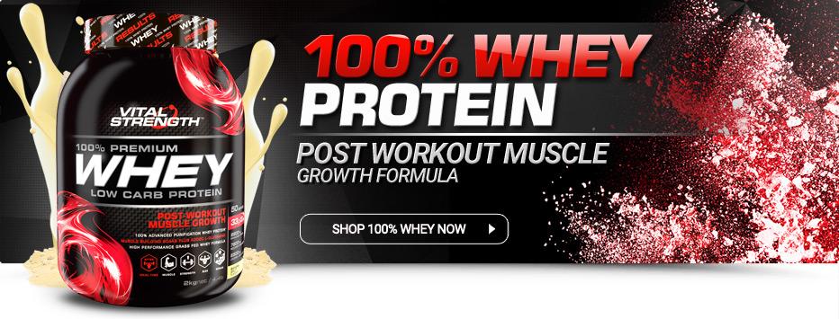 Buy 100% Whey Protein Powder Online