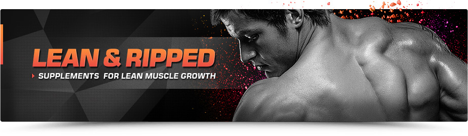 Get Lean & Ripped Supplements Online