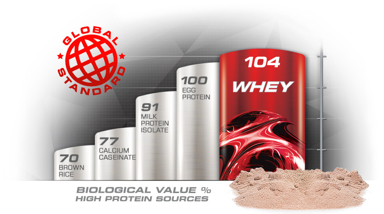 100% Whey Protein Powder Global Standard
