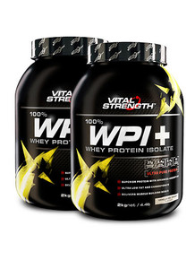 WPI+ 100% Whey Protein Isolate 2kg