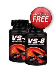 Buy 1 Get 1 Free! VS-8 Thermogenic Burner 120 liquid capsules
